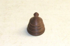 One of David's finished finials, he did go on to make another.