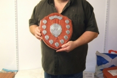 Richard Comfort won the shield in the Novice class for the total points over the year 2019  competitions.