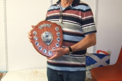 David Line won the shield in the Intermediate class for the total points over the year 2019.