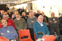 Another view of our members again showing there was standing room only.