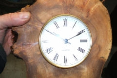 Here we have Richard Comfort's finished clock.