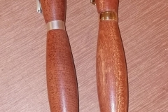 Here are 2 of Dave line's finished pens.
